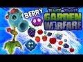 Berry Pea Shooter is the Master! New Plants vs. Zombies Garden Warfare Aquafina Character