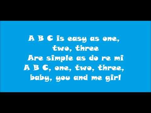 ABC - Jackson Five Lyrics