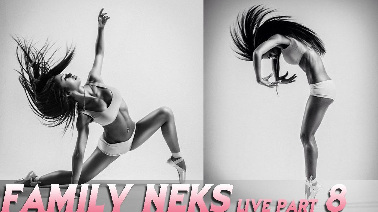 Family Neks live 8 / Гимнастический зал и наша акробатика ...