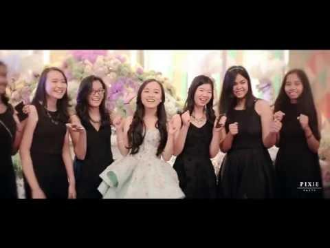 Tasya Sweet17 Highlight   Bali Room Kempinski Jakarta
