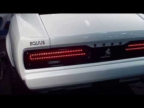 2015 Equus Bass 770 at the Detroit Auto Show