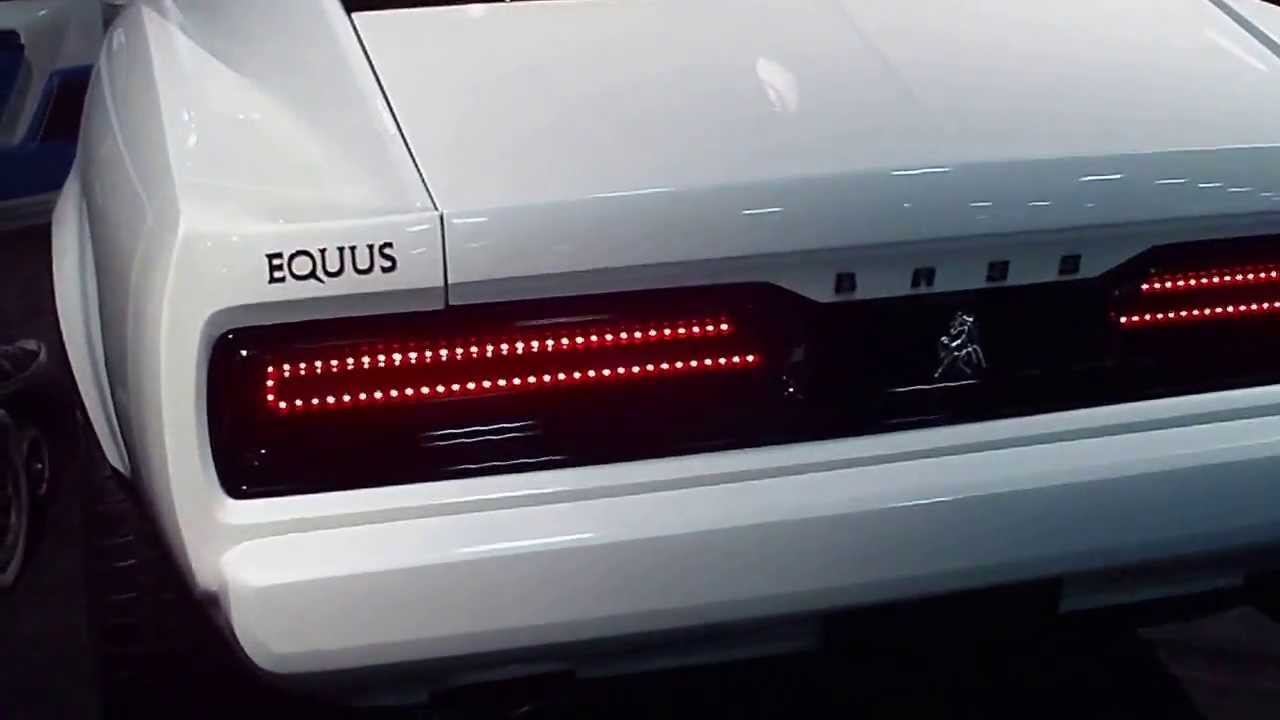 2015 Equus Bass 770 At The Detroit Auto Show Youtube