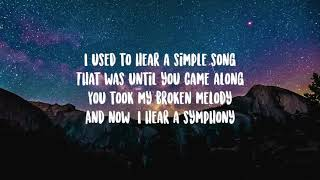 Cody Fry- I Hear a Symphony Lyrics-  i used to hear a simple song