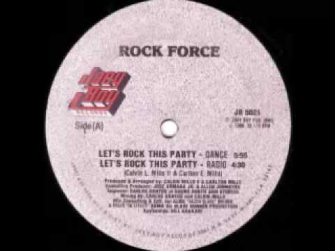 Rock Force - Let's Rock This Party (Side B)