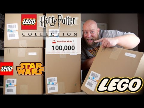 HARRY POTTER EXCLUSIVE ITEM in this $1553 Amazon Customer Returns LEGO & TOYS Pallet + GREAT BOXES