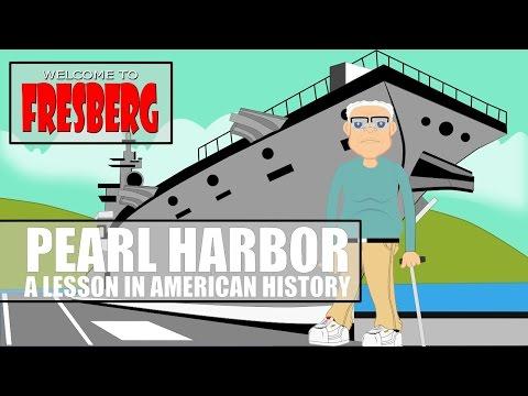Pearl Harbor for Kids (Educational Videos for Students) Fresberg Cartoon Network (CN)