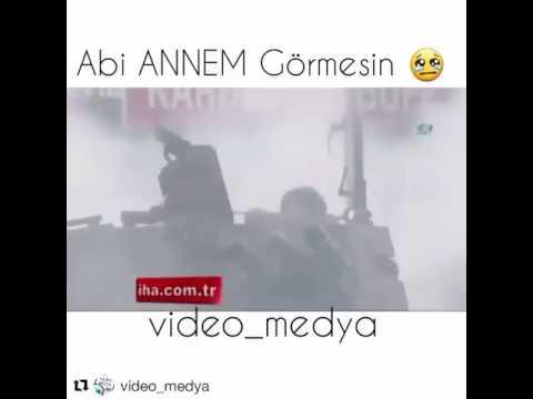 33)  Darbe Videoları 15 Temmuz 2016 Darbesinde asker: Annem Görmesin Nolur