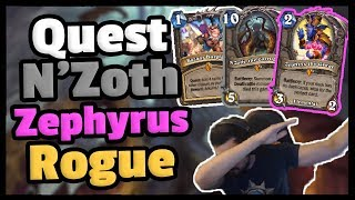 I LOVE THIS DECK - The Legendary Quest N'Zoth Zephyrus Rogue