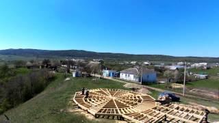 Просто полеты над стройкой(Черновой материал - на любителя. Выкидывать было жалко ))) http://vk.com/kupolkrym - Купольный Дом в Крыму (наша группа..., 2015-04-28T16:21:12.000Z)