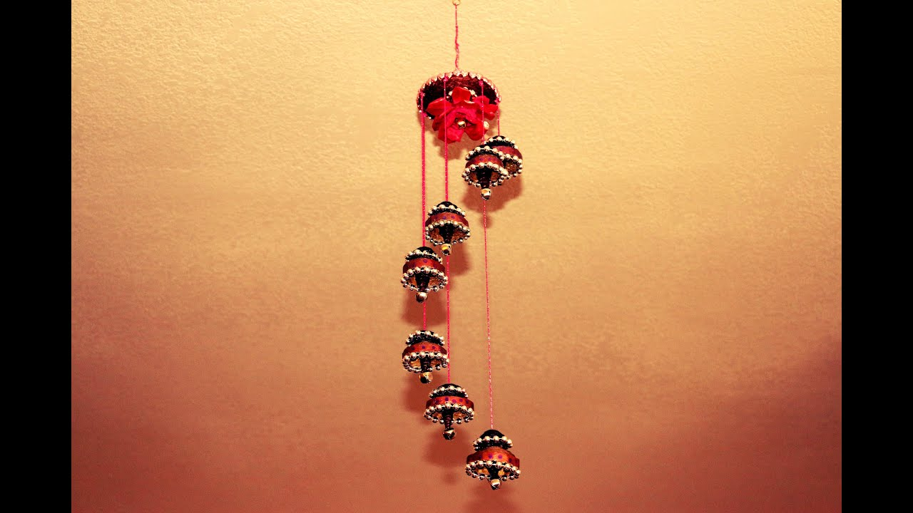 recycled wind chime made out of waste cardboard youtube