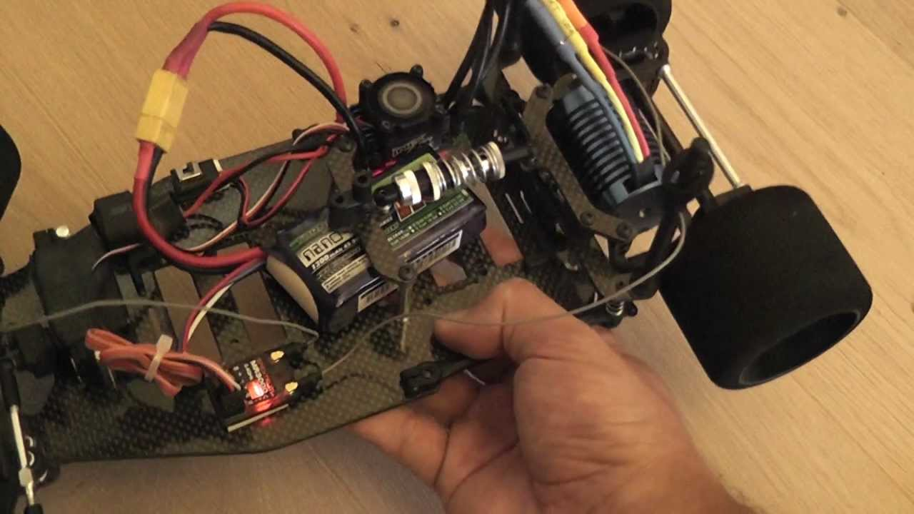 installing a brushless setup in a rc car