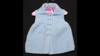 0-1 Yaş Nohut Model Kız Bebek Yeleği - 2019 - Rüksan Atak Sökmen 4K UHD