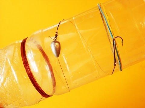 как сделать кружок для рыбалки из бутылки