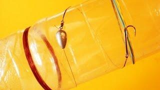 Ловля на бутылку.Щука.Судак.Окунь.Рыбалка.Fishing(Ловля хищника на кружки:http://youtu.be/JjZuv_ids0A В этом видео говорится как оснастить бутылку для ловли щуки, окуня,..., 2014-05-04T15:21:00.000Z)