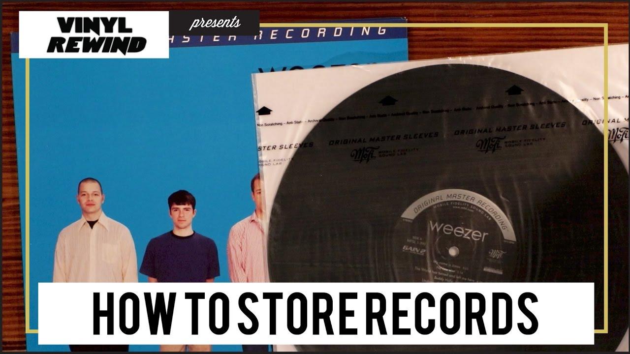 How to Store Vinyl Records - YouTube