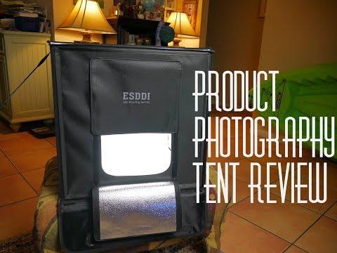 "Esddi 20"" Product photography Light Box Portable photography studio"