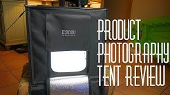 "Esddi 20"" Product photography Light Box Portable photography studio"