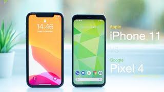 iPhone 11 vs Pixel 4 | In-Depth Comparison & Review
