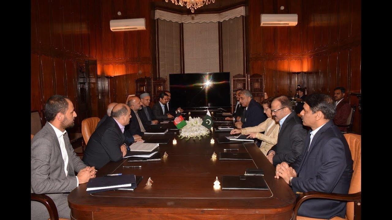 Multi Agency Afghan Delegation met General Qamar Javed Bajwa, Chief of Army Staff (COAS)