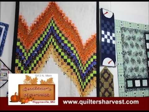 Higginsville Missouri's Quilter's Harvest on Our Story's the Celebrities