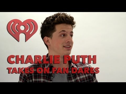 Charlie Puth Freestyle Raps Fan Tweets from a (Shower) Hat | Artist Challenge