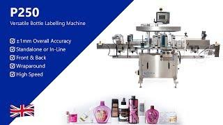 P250 Front & Back Labelling Machine | Premier Labellers