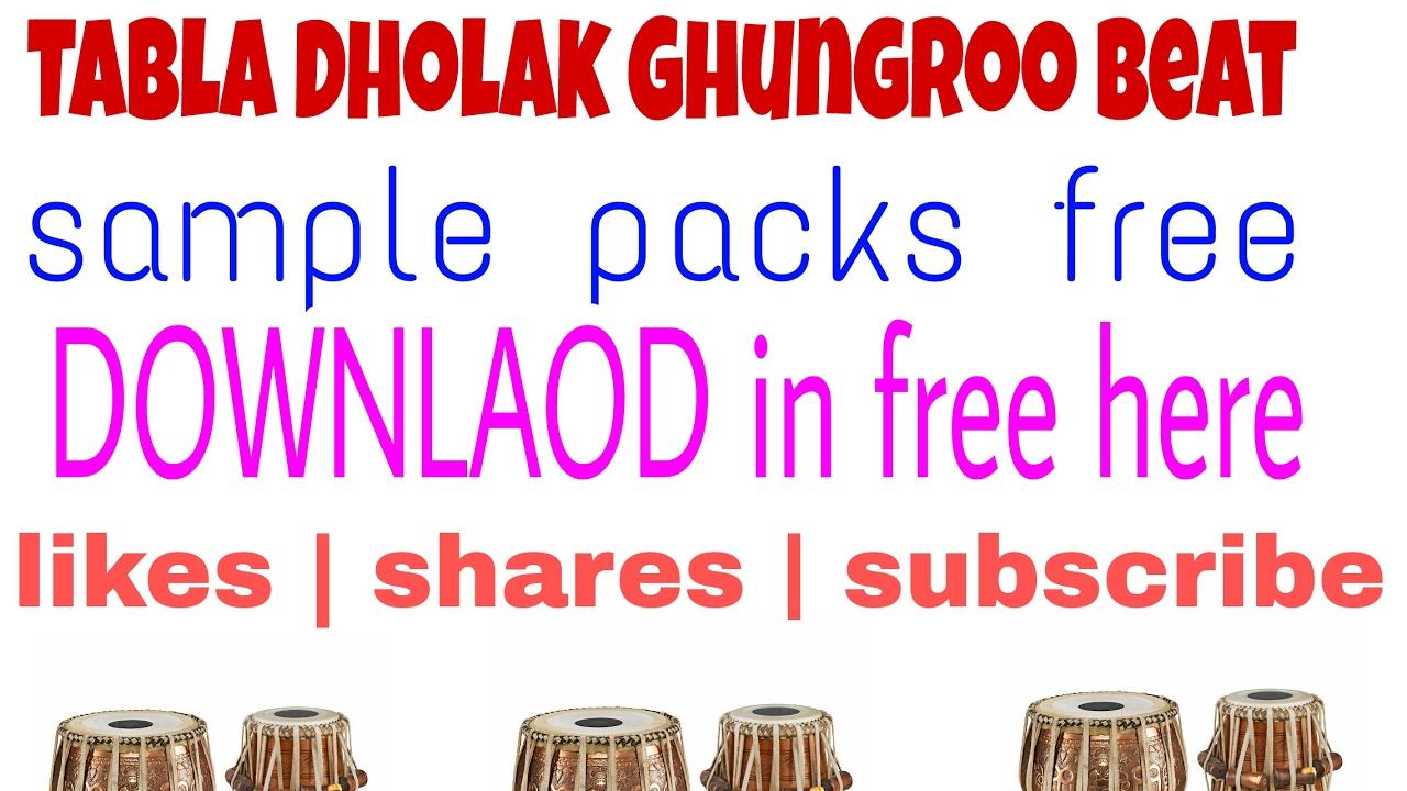 ||New pack|| Dholak tabla beat sample download   How to download tabla beat  and dholak beat pack