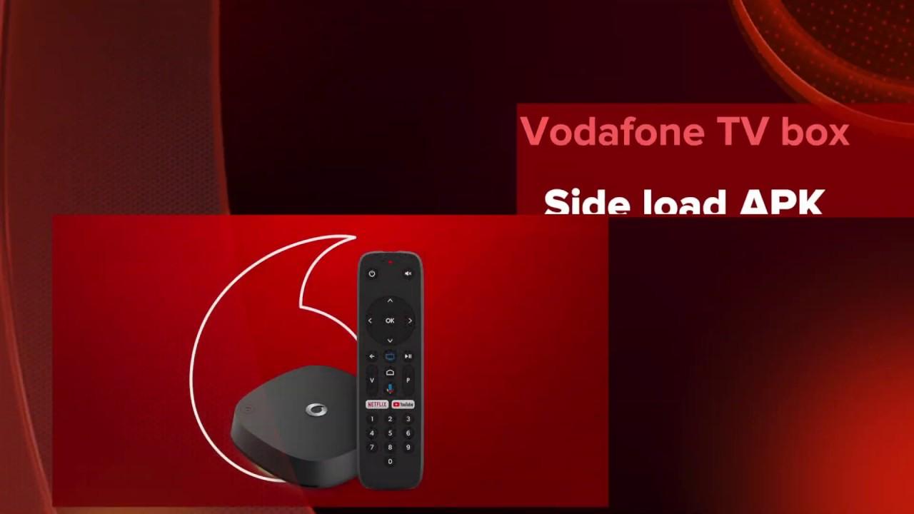 Vodafone TV- side load any apk file