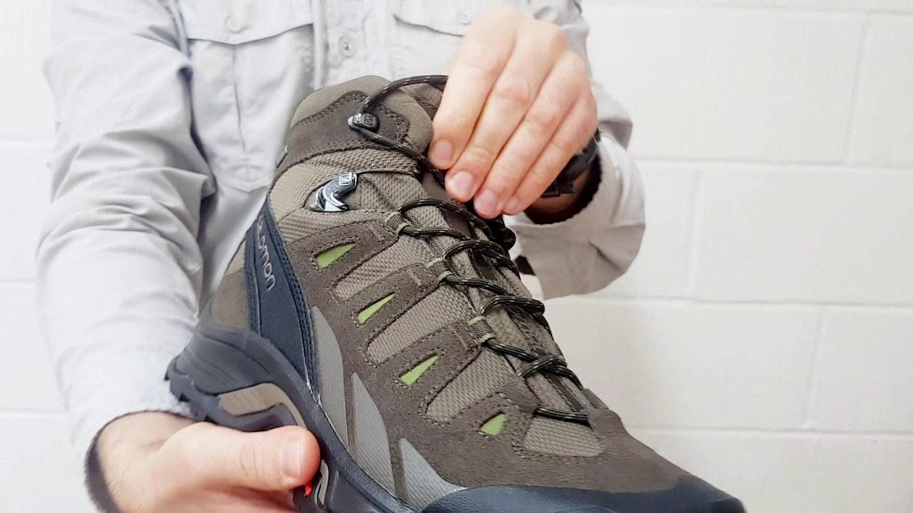 Salomon Quest Prime GTX Boots Close Up