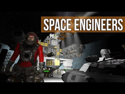 Space Engineers - Refitting the Ship Engines (Exploration Mod Survival Coop) Ep 19