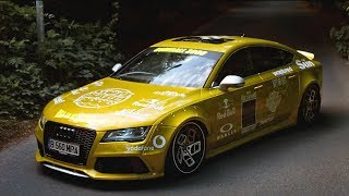 homepage tile video photo for Widebody Audi RS7 for Gumball 3000 | Clinched Flares