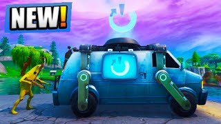 *NEW* FORTNITE LOOT LAKE BUNKER + RESPAWN VAN UPDATE LIVE! (Fortnite Battle Royale)