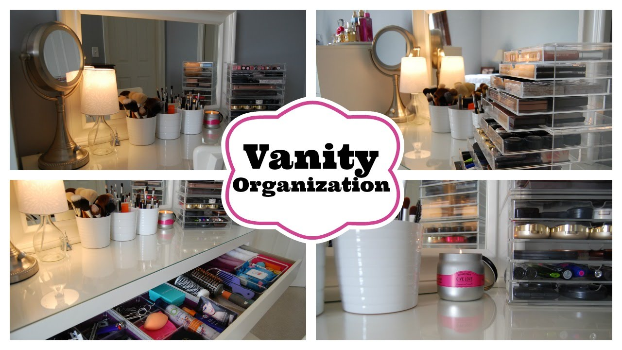 Vanity Organization featuring my Ikea Malm Dressing Table ...