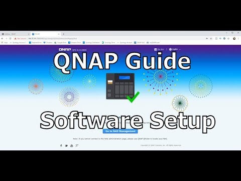 QNAP First Time Setup Guide
