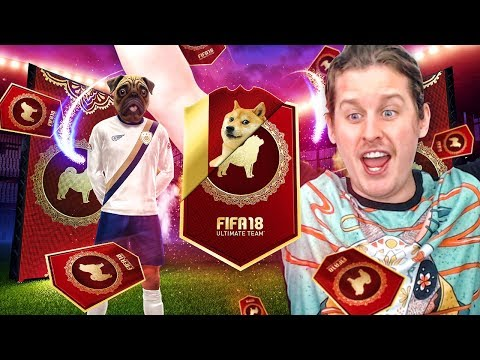 WE PACK AN ICON! MASSIVE 2 FOR 1 LUNAR NEW YEARS PACK OPENING! FIFA 18 ULTIMATE TEAM