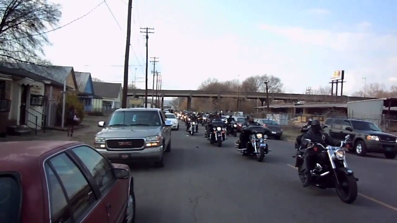 Outcast MC 9MM funeral