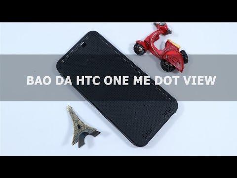 Bao da HTC One Me Dot View - Đồ Chơi Di Động .com