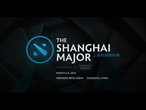 ตามติดรายการ Major วันที่ 3 - The Shanghai Major 2016 - Qualifiers - Caster : RockLEE-