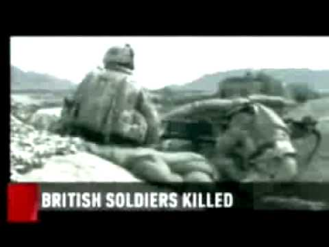 Canadian News Broadcast  - US Friendly fire incident that killed 3 members of 1 Royal Anglian 2007