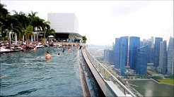 Singapore SkyPark Pool - Sands Marina Bay Hotel - 57th Floor