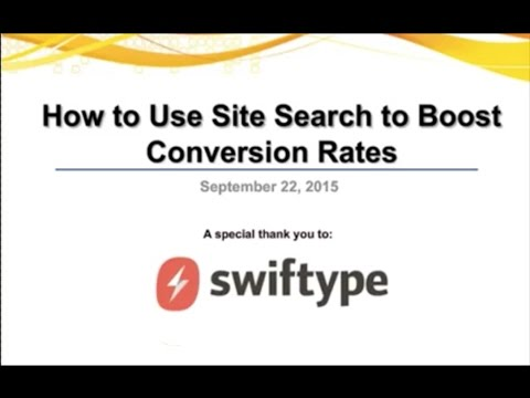 How to Use Site Search to Boost Conversion Rates