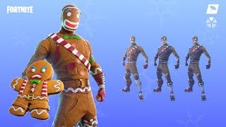 Fortnite merry marauder,ginger gunner are back - Gingerbread skins