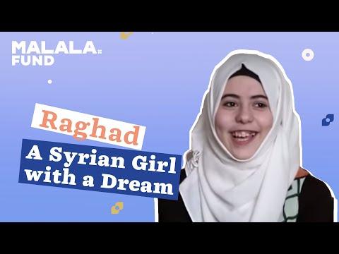 Meet Raghad a Syrian Refugee