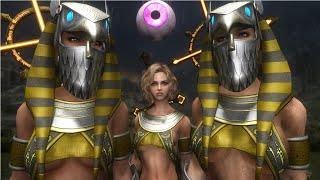 Skyrim Mod Review 63 - Horus Armor and Sacrificing Korean Followers - Series: Boobs and Lubes