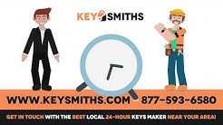 Emergency 24 hour locksmiths. Locked out? Lost keys? Call locksmith near me!  |  Key Smiths