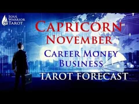 💰CAPRICORN NOVEMBER Clarity, Happiness & Prosperity!!! Career & Money Reading Soul Warrior Tarot