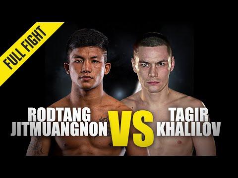 Rodtang vs. Tagir Khalilov   ONE Championship Full Fight
