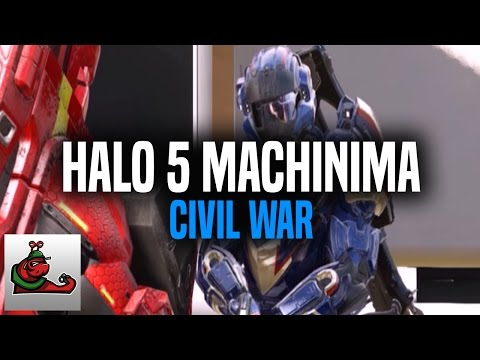 Captain America: Civil War - Halo 5 Machinima