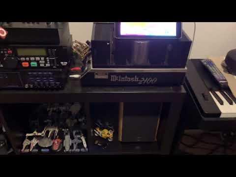 McIntosh 2100 sound check