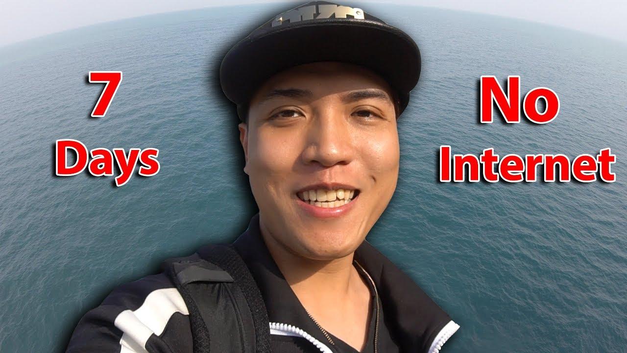 NTN - Thử Thách 7 Ngày Giữa Biển Không Internet (7 days on the sea without  internet challenge)